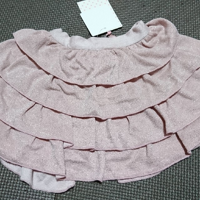 Shirley Temple(シャーリーテンプル)のシャーリーテンプル ボレロカーディガン 80-90 キッズ/ベビー/マタニティのベビー服(~85cm)(カーディガン/ボレロ)の商品写真