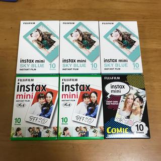 フジフイルム(富士フイルム)のinstax mini film チェキ ミニ フイルム 60枚(その他)