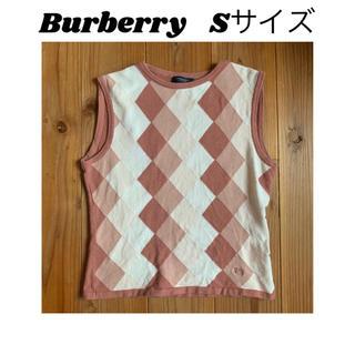 BURBERRY - ノースリーブ タンクトップ Burberry