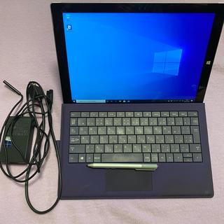 マイクロソフト(Microsoft)のSurface Pro 3 128GB キーボード付き(ノートPC)
