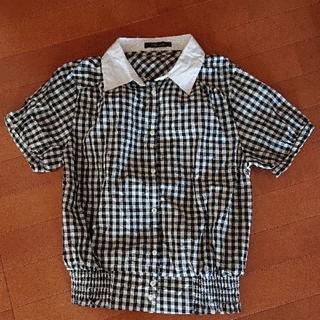 アベイル(Avail)の【最終値下げ】アベイル CHIP CLIP ギンガムチェックシャツ(シャツ/ブラウス(半袖/袖なし))