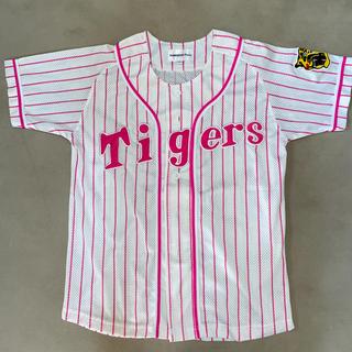 ハンシンタイガース(阪神タイガース)の阪神タイガース ユニフォーム ピンク S(応援グッズ)