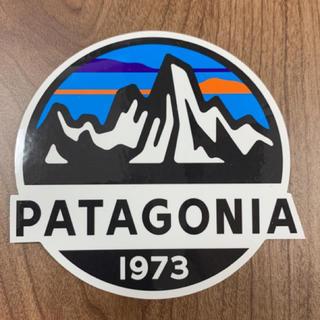 パタゴニア(patagonia)の新品1枚パタゴニアフィッツロイ公式ステッカー即購入してください(その他)