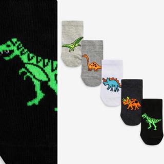 ネクスト(NEXT)の即日発送❣️ネクスト 恐竜靴下セット   14-16cm(靴下/タイツ)