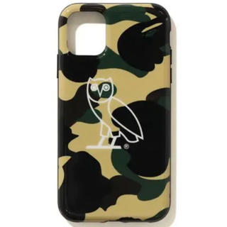 アベイシングエイプ(A BATHING APE)のOVO ape bape  iPhoneケース drake ドレーク(iPhoneケース)