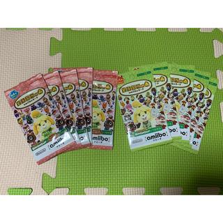 ニンテンドウ(任天堂)のどうぶつの森 amiiboカード 第1弾、第4弾 各5パック(その他)