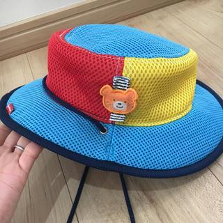 ミキハウス(mikihouse)のミキハウス 帽子 メッシュ  50(帽子)