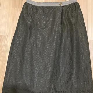 ミナペルホネン(mina perhonen)のサリースコット (ひざ丈スカート)