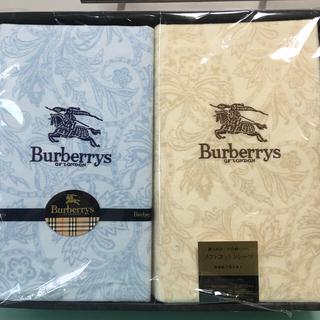 BURBERRY - 新品バーバリーのコットンシーツ二枚セット  3