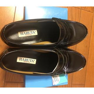 ハルタ(HARUTA)のはなて様専用 新品未使用 ハルタローファー 26㌢ 3E 黒(ドレス/ビジネス)