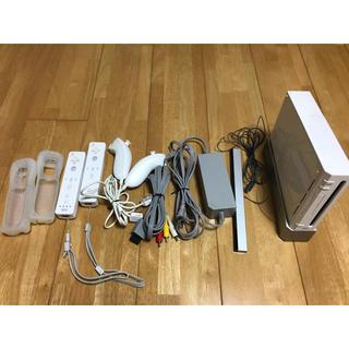 Wii - 10月末まで Wii 本体 リモコン リモコンカバー ヌンチャク