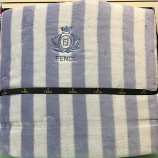 フェンディ(FENDI)の新品フェンディの綿毛布(毛布)