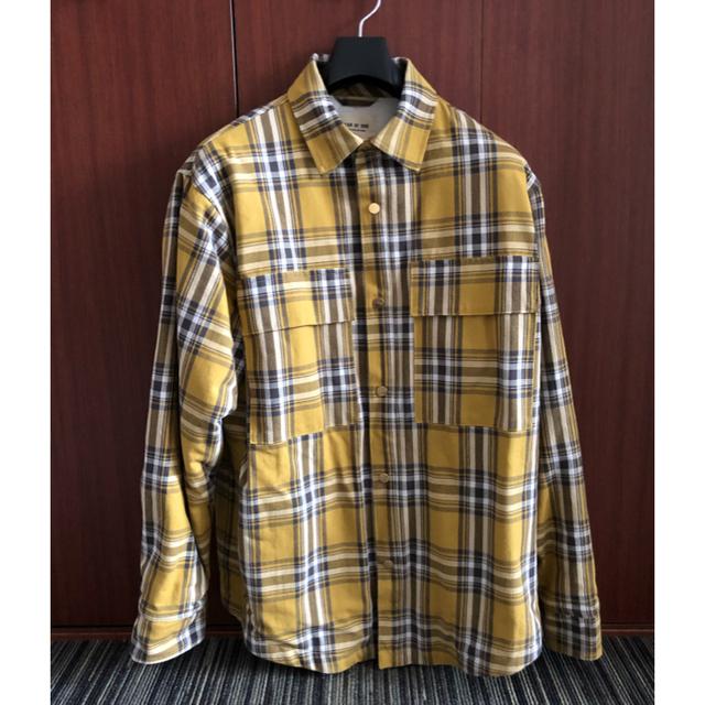 FEAR OF GOD(フィアオブゴッド)のFear of God Checked Cotton  Overshirt メンズのジャケット/アウター(ブルゾン)の商品写真