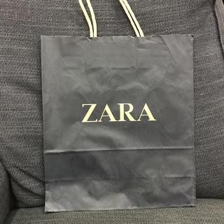 ザラ(ZARA)のザラ♡ショッパー(ショップ袋)