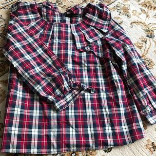 ミスティウーマン(mysty woman)のチェックシャツ(シャツ/ブラウス(長袖/七分))