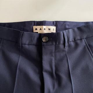 マルニ(Marni)の新品未着用 MARNI マルニ ウールパンツ スラックス パンツ (スラックス)
