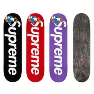 シュプリーム(Supreme)の3個 Supreme smurfs skateboard deck  スマーフ(その他)