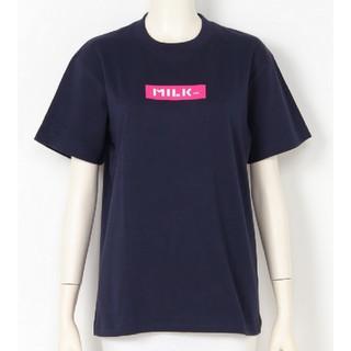 ミルクフェド(MILKFED.)のミルクフェド ネイビー 新品未使用(Tシャツ(半袖/袖なし))