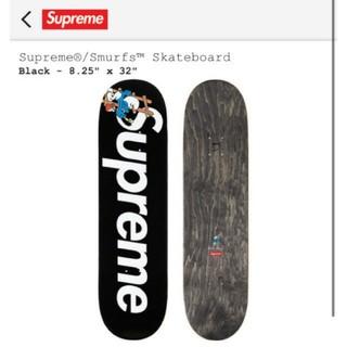 シュプリーム(Supreme)のBlack Supreme smurfs skateboard deck (その他)