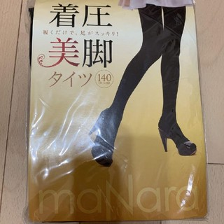マナラ(maNara)のMANARAの着圧美脚タイツ(タイツ/ストッキング)