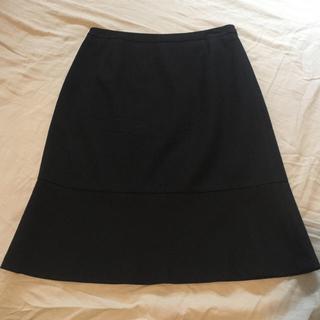 ミッシェルクラン(MICHEL KLEIN)のミッシェルクラン 膝丈フレアスカート 40(ひざ丈スカート)