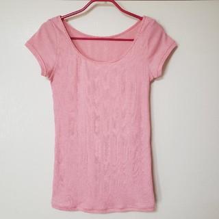 ウンナナクール(une nana cool)のウンナナクール フレンチスリーブシャツ フレンチ袖 インナー(Tシャツ(半袖/袖なし))