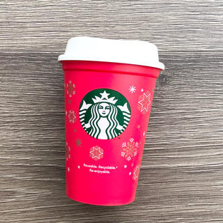 スターバックスコーヒー(Starbucks Coffee)の2018 スターバックス リユーザブルカップ ホリデー限定レッドカップ(グラス/カップ)