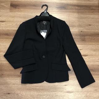 シトラスノーツ(CITRUS NOTES)のシトラスノーツ ジャケット スーツ 黒定価3万円程(ノーカラージャケット)
