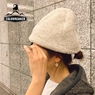 ネストローブ(nest Robe)の新品 希少 COLD BREAKER✨コールドブレーカー ボアキャップ ニット帽(ニット帽/ビーニー)