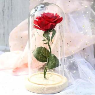 一輪のバラ 一輪の薔薇 造花 プレゼントに(ドライフラワー)