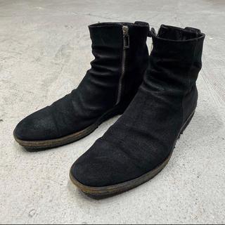 ディオールオム(DIOR HOMME)の12aw 名作 ディオールオム サイド ジップ カーフスキン ブーツ 41(ブーツ)