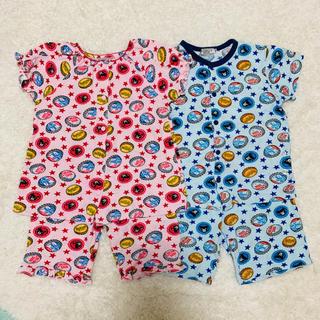 ダブルビー(DOUBLE.B)のミキハウス ダブルB 半袖パジャマ 110&100(パジャマ)