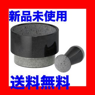 イケア(IKEA)の【IKEA】乳棒&乳鉢 大理石 ブラック(すり鉢)(調理道具/製菓道具)