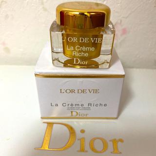 クリスチャンディオール(Christian Dior)のディオール オー・ド・ヴィ ラ クレーム リッシュ 高級クリームサンプルサイズ(フェイスクリーム)
