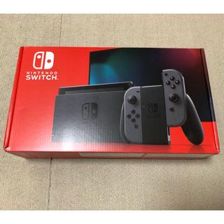 ニンテンドースイッチ(Nintendo Switch)の☆本日20:00までreeco様専用☆NintendoSwitch 新型グレー(家庭用ゲーム機本体)