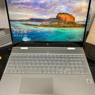 ヒューレットパッカード(HP)のhp ノートパソコン本体ENVY x360 15-dr1000 G1モデル(ノートPC)