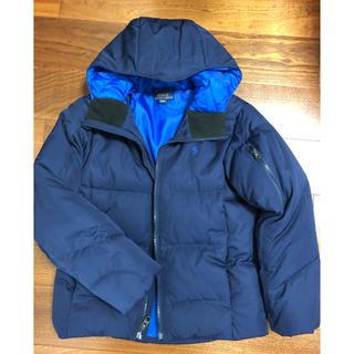 ポロラルフローレン(POLO RALPH LAUREN)のポロ ラルフローレン ダウンジャケット 紺色 140(Tシャツ/カットソー)