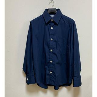 カラー(kolor)のkolor 20ss 50/- ブロード ビッグシャツサイズ1(シャツ)