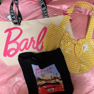 バービー(Barbie)のバービー  barbie コラボ バッグ トートバッグ ショルダー ポーチ 限定(トートバッグ)