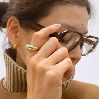 ドゥーズィエムクラス(DEUXIEME CLASSE)の最終価格❣️新品LAVER GOLD BIG Rリング13号ドゥーズエイムクラス(リング(指輪))