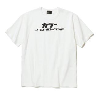 カラー(kolor)のkolor カラー カタカナTシャツ 2(Tシャツ/カットソー(半袖/袖なし))