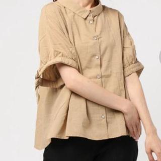 SM2 - sm2 袖リボンスキッパーシャツ コットンリネン