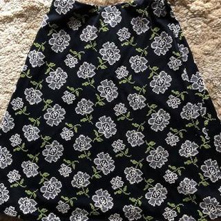 シビラ(Sybilla)のシビラ コットン刺繍 スカート(ひざ丈スカート)