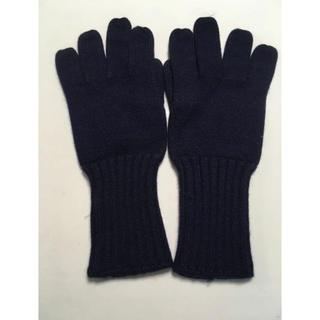 アーペーセー(A.P.C)のA.P.C. ネイビー手袋(手袋)