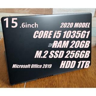 エイサー(Acer)の☆i5 第10世代 ノートパソコン 本体 Windows10 20GB (ノートPC)