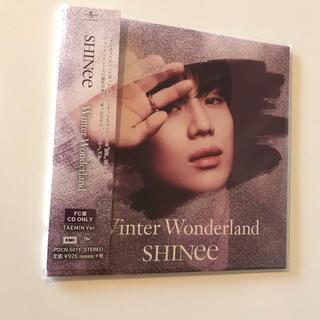 シャイニー(SHINee)のSHINee テミン  TAEMIN Winter Wonderland FC盤(K-POP/アジア)