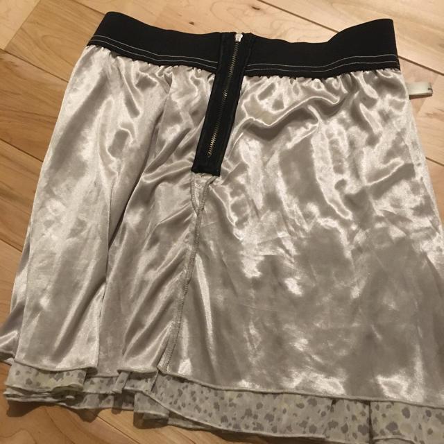 mysty woman(ミスティウーマン)のmysty woman ふわふわシフォンスカート レディースのスカート(ミニスカート)の商品写真