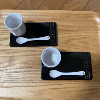 ルクルーゼ(LE CREUSET)のルクルーゼ ブラック ホワイト(食器)