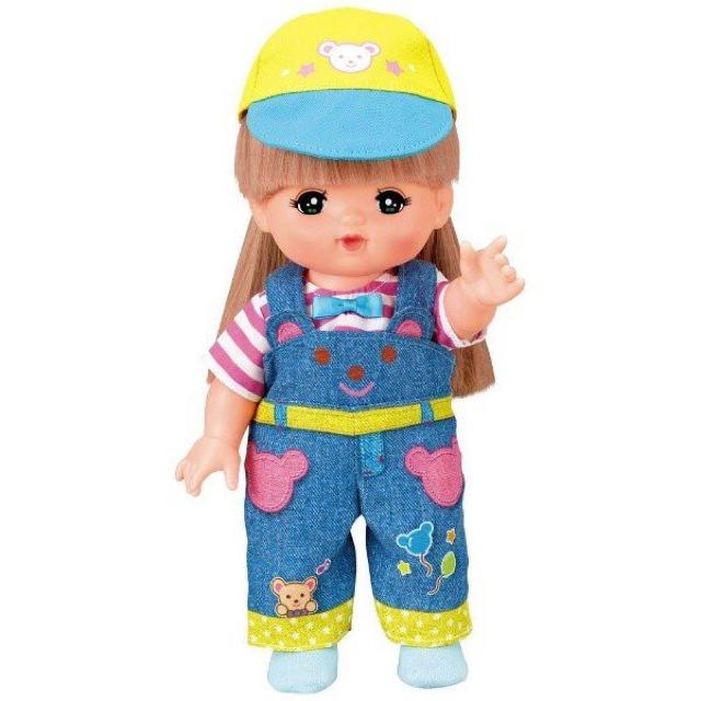 PILOT(パイロット)のメルちゃん きせかえセット くまさんオーバーオール  キッズ/ベビー/マタニティのおもちゃ(ぬいぐるみ/人形)の商品写真