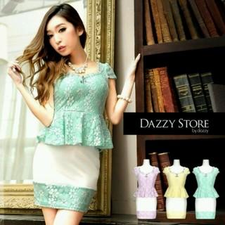 デイジーストア(dazzy store)のDazzy Store  ペプラムドレス(ミニドレス)